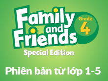 Family and Friends Special Edition 4 (Phiên bản từ lớp 1-5) - Syllabus