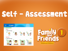 Family and Friends National Edition 1 – Self Assessment