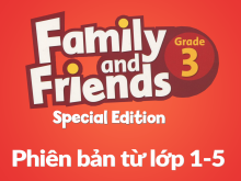 Family and Friends Special Edition Grade 3 (Phiên bản từ lớp 1-5) - Workbook Answer Key & Script