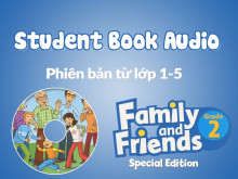 Family and Friends Special Edition 2 (Phiên bản từ lớp 1-5) - Student Book Audio