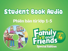 Family and Friends Special Edition 4 (Phiên bản từ lớp 1-5) - Student Book Audio