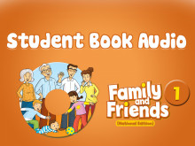 Family and Friends National Edition 1 - Student Book Audio
