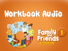 Family and Friends National Edition 1 - Workbook  Audio