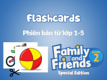 Family and Friends Special Edition 2 (Phiên bản từ lớp 1-5) - Flashcards