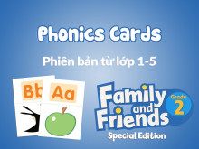 Family and Friends Special Edition 2 (Phiên bản từ lớp 1-5) - Phonics Cards