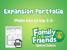 Family and Friends Special Edition 4 (Phiên bản từ lớp 1-5) - Expansion Portfolio