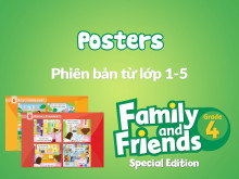 Family and Friends Special Edition 4 (Phiên bản từ lớp 1-5) - Posters
