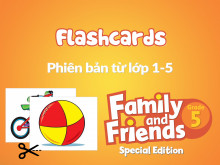 Family and Friends Special Edition 5 (Phiên bản từ lớp 1-5)  - Flashcards