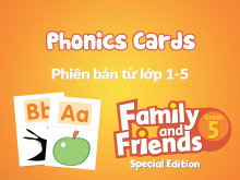 Family and Friends Special Edition 5 (Phiên bản từ lớp 1-5)  - Phonics Cards