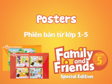 Family and Friends Special Edition 5 (Phiên bản từ lớp 1-5) - Posters