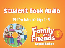 Family and Friends Special Edition 5 (Phiên bản từ lớp 1-5) - Student Book Audio