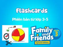 Family and Friends Special Edition Grade 3 (Phiên bản từ lớp 3-5)  - Tranh từ vựng (Flashcards)