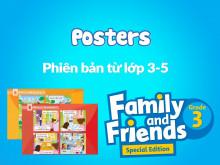 Family and Friends Special Edition Grade 3 (Phiên bản từ lớp 3-5)  - Tranh tình huống (Posters)