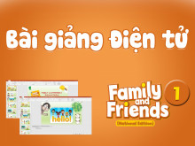 Unit 3 - Bài giảng Điện tử - Family and Friends National Edition 1