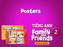 Posters - Tiếng Anh 2 Family and Friends National Edition