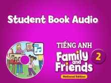 Student Book Audio - Tiếng Anh 2 Family and Friends National Edition