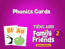 Phonics Cards - Tiếng Anh 2 Family and Friends National Edition