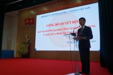 Trường Đại học Công nghiệp Việt - Hung sẽ là hội viên tích cực của Hiệp hội