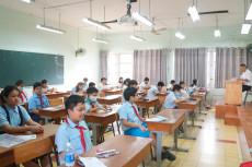 Gần 4.000 học sinh tranh 535 suất vào lớp 6 trường THPT chuyên Trần Đại Nghĩa