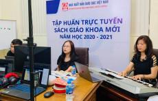 Hoàn thành công tác bồi dưỡng giáo viên sử dụng SGK lớp 1; Chuẩn bị, cung ứng đầy đủ SGK phục vụ năm học 2020-2021
