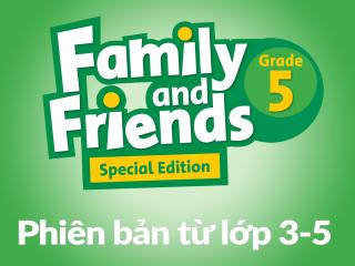 Bản PDF - Unit Starter & 1 - Family and Friends Special Edition Grade 5 - (Phiên bản từ lớp 3-5)