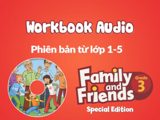Family and Friends Special Edition 3 (Phiên bản từ lớp 1-5) - Workbook Audio