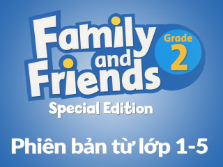 Family and Friends Special Edition 2 (Phiên bản từ lớp 1-5) - Full Pack