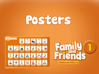 Family and Friends National Edition 1 - Posters