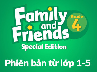 Family and Friends Special Edition 4 (Phiên bản từ lớp 1-5) - Full Pack