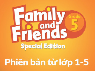 Family and Friends Special Edition 5 (Phiên bản từ lớp 1-5) - Full Pack