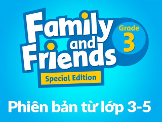 Family and Friends Special Edition 3 (Phiên bản từ lớp 3-5)  – Full Pack