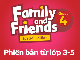 Family and Friends Special Edition 4 (Phiên bản từ lớp 3-5) – Full Pack