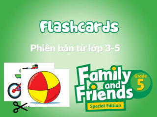 Family and Friends Special Edition Grade 5 (Phiên bản từ lớp 3-5)  - Tranh từ vựng (Flashcards)