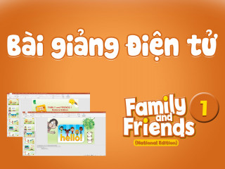 Unit Starters - Bài giảng Điện tử - Family and Friends National Edition 1