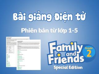 Unit 4 - Bài giảng điện tử - Family and Friends Special Edition 2 (Phiên bản từ lớp 1-5)