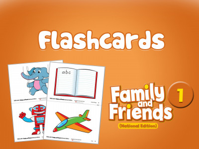 Family and Friends National Edition 1 - Flashcards
