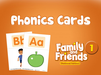 Family and Friends National Edition 1 - Phonics Cards