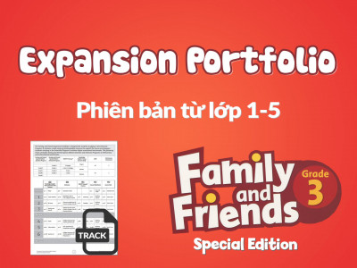 Family and Friends Special Edition 3 (Phiên bản từ lớp 1-5) - Expansion Portfolio