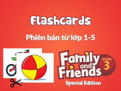 Family and Friends Special Edition 3 (Phiên bản từ lớp 1-5) - Flashcards
