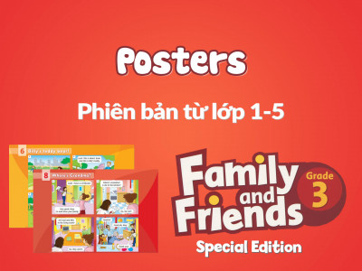 Family and Friends Special Edition 3 (Phiên bản từ lớp 1-5) - Posters